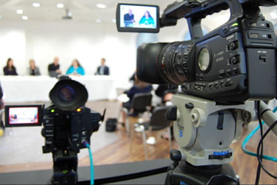 Организация онлайн трансляции мероприятия